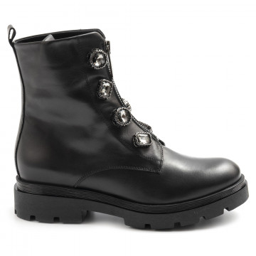 military boots woman tosca blu sf2024s462londra 7784