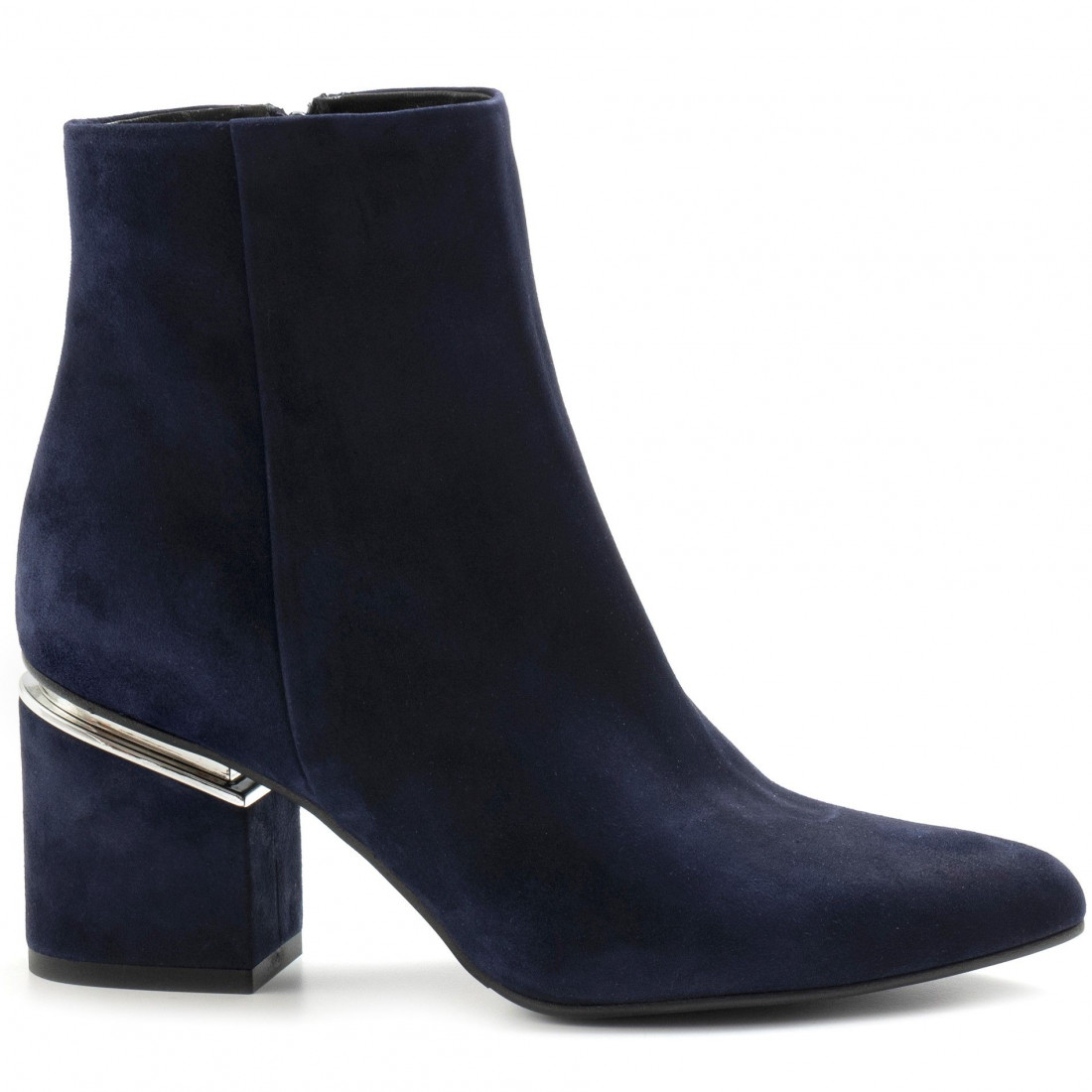 booties woman silvia rossini sr133camoscio blu 7978