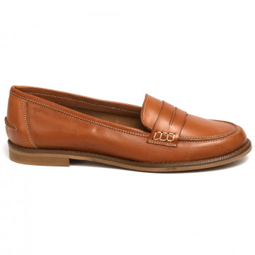 loafers woman sangiorgio 7340madrid cuoio 7256