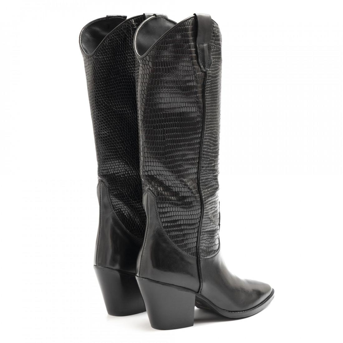 boots woman kobra 5470vit nero pit nero 6503