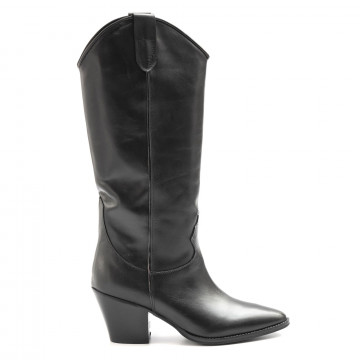 boots woman kobra 5472vitello nero 6508