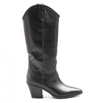 stiefel  boots damen kobra 5472vitello nero 6508