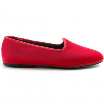 slipper damen cristinadimilano friulane rosso lacca 8023