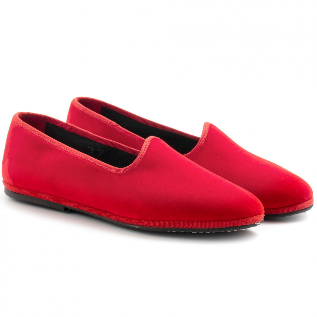 slip on woman cristinadimilano friulane rosso lacca 8023