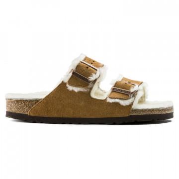 sandalen damen birkenstock arizona shearling1001135 7748
