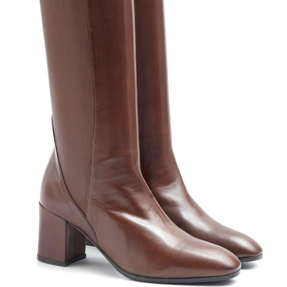 boots woman lorenzo masiero 205963cognac 6403