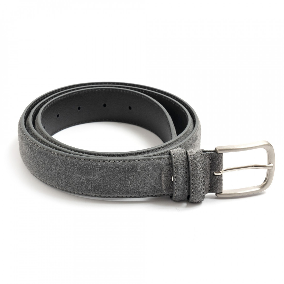 belts man sangiorgio 9009camoscio grigio 7423