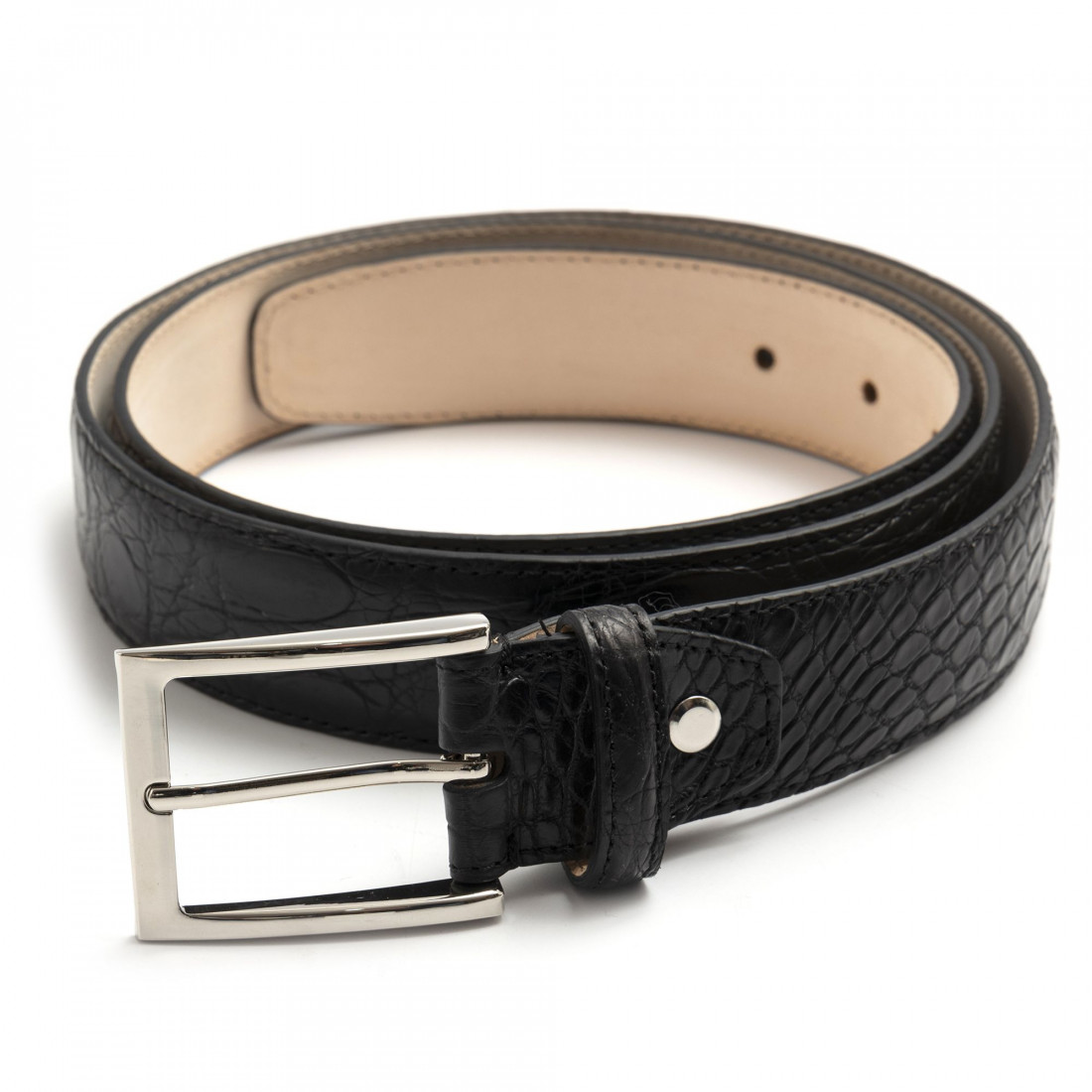 belts man sangiorgio 1300cocco nero 7982