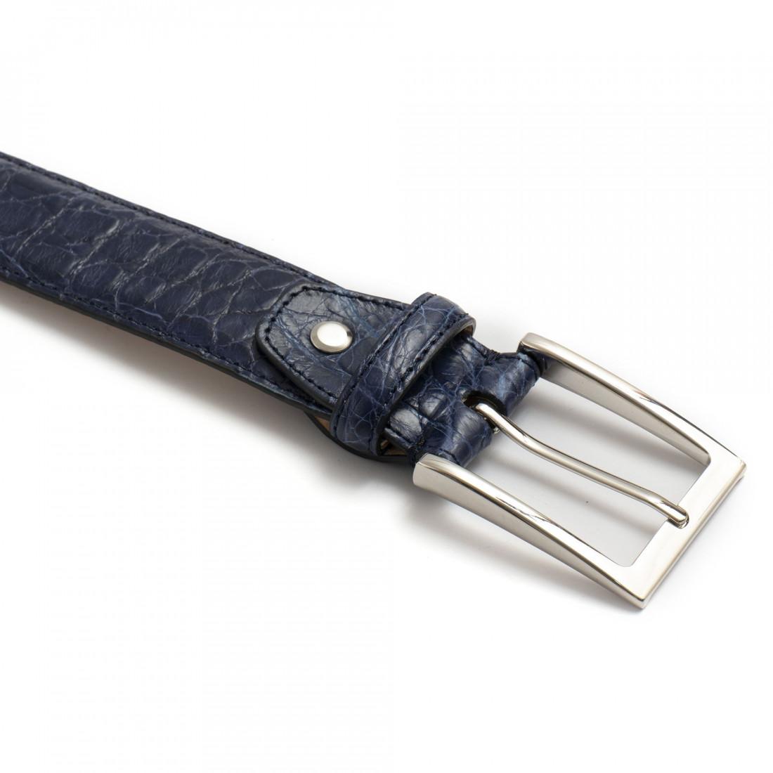 belts man sangiorgio 1300cocco blu 7979