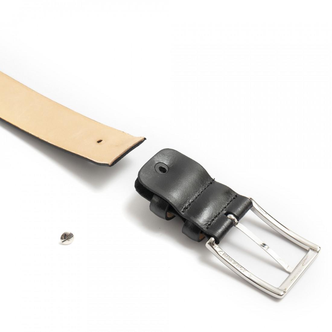 belts man sangiorgio 1300pelle nero 7418