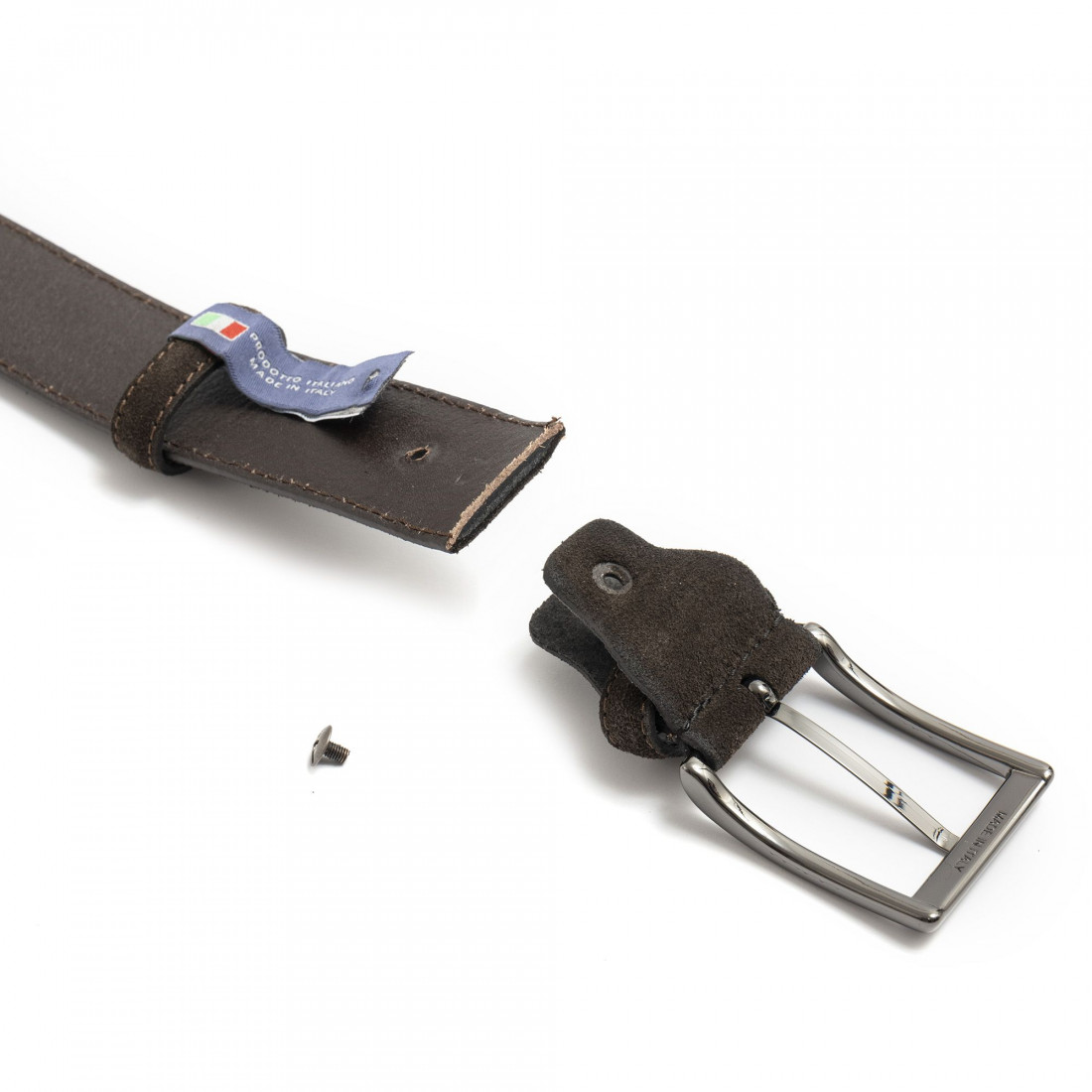 belts man sangiorgio 9009camoscio testa moro 7424