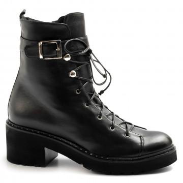 military boots woman lorenzo masiero alw21312zpaz nero 7994