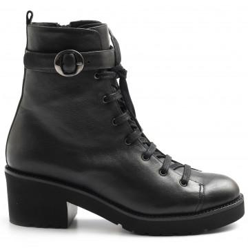 military boots woman lorenzo masiero alw21320sauvage nero 8072