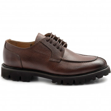 lace up man brecos 9851buccia darancia tdm 7871