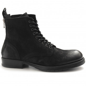 lace up ankle boots man pawelks 19807band nero 5009
