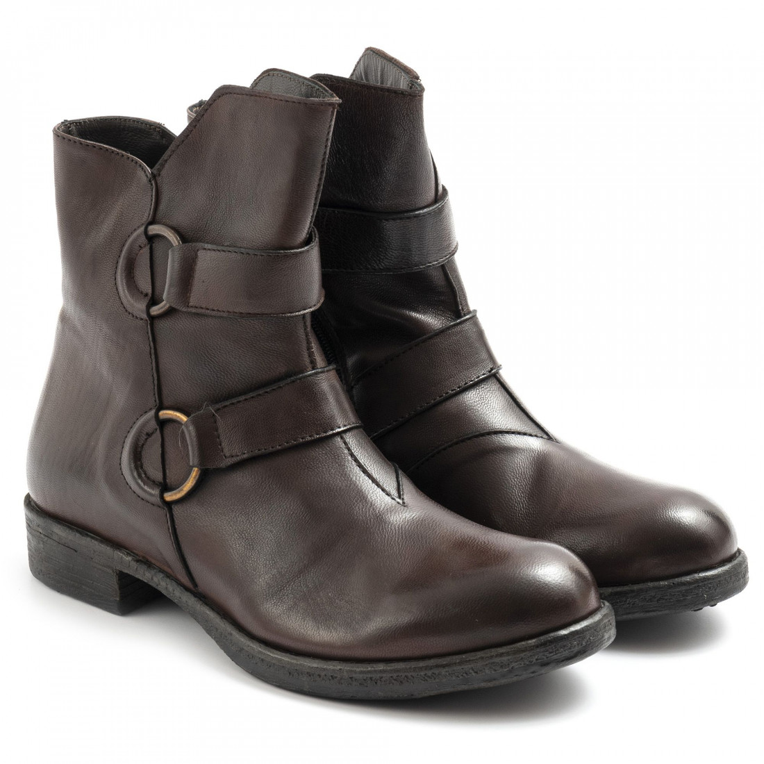 booties woman sangiorgio d415softy t moro 7781
