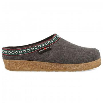 sandals woman haflinger franzl71100104 anthrazit 8052