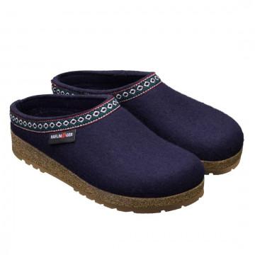 sandals woman haflinger franzl71100170 mittelblau 4126