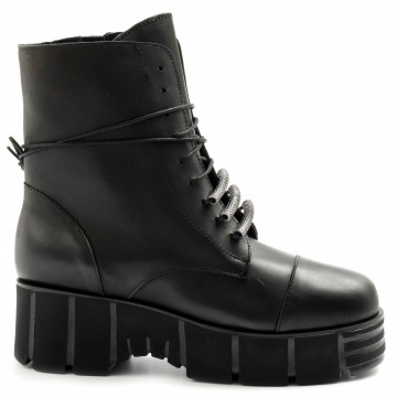 military boots woman brando rock 60vit nero 7997