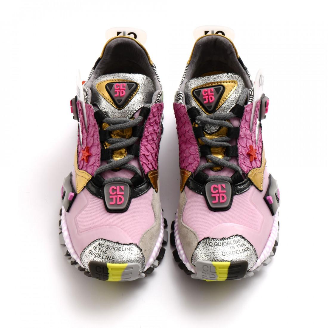 sneakers woman cljd 6f0300121 pink violet 8141