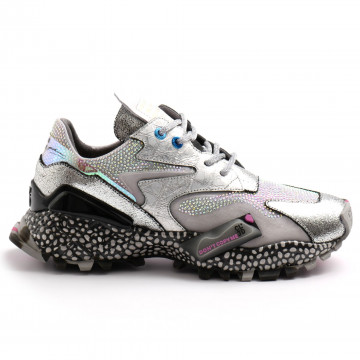 sneakers woman cljd 6f0300221 silver 8140