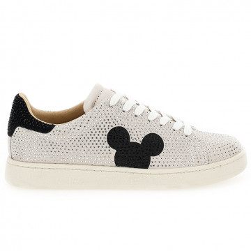 sneakers damen moa master of arts md617strass argento e nero 8151