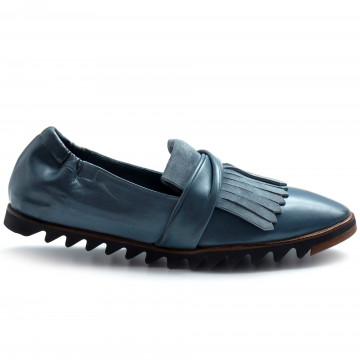 slipper damen lorenzo masiero 21109abb blu 8161