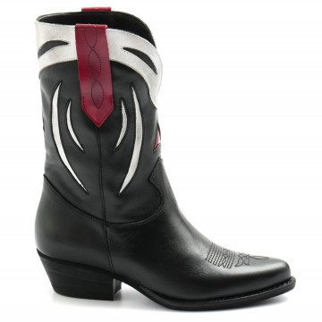 boots woman les tulipes 707vitello nero 8170