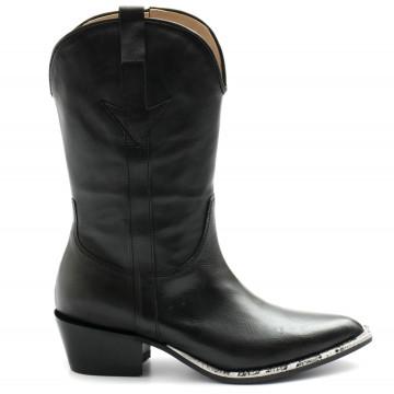 boots woman laura bellariva 6505nero 8171