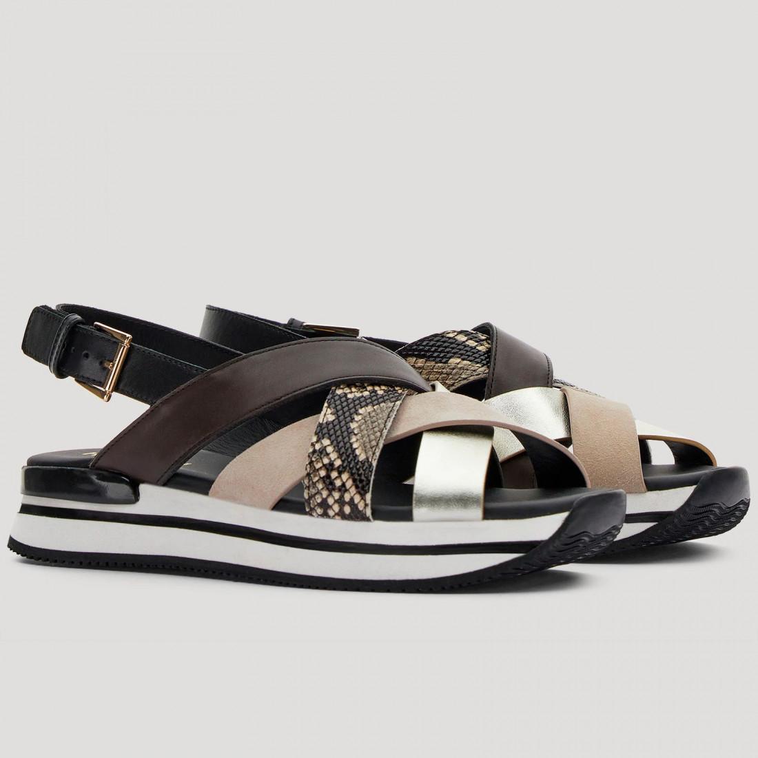 sandals woman hogan hxw2570dk80pdt0rsq 8190