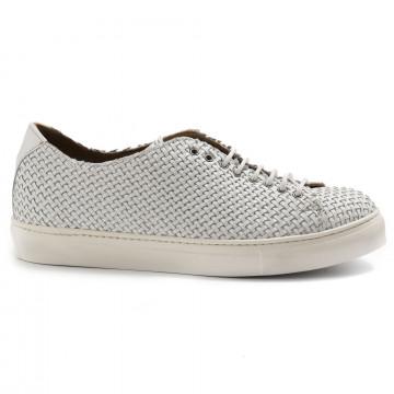 sneakers man sangiorgio 7008 5nappa bianco 6973