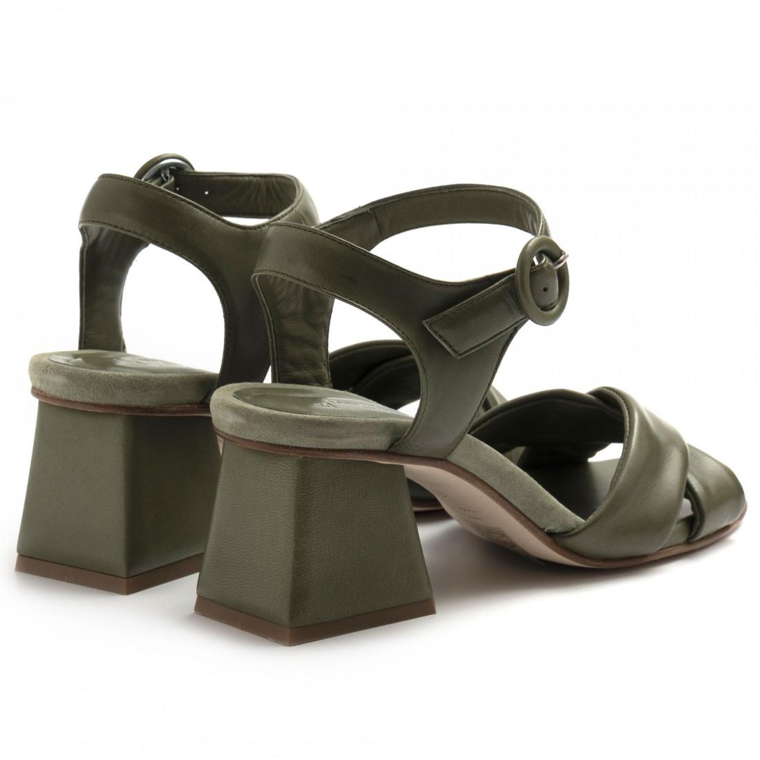 sandals woman lorenzo masiero 21111nappa salvia 8244