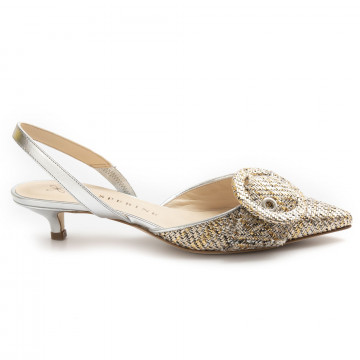 pumps woman prosperine 8111intreccio crystal 8252
