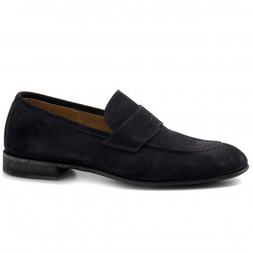 loafers man brecos 10058cachemire blu 8278