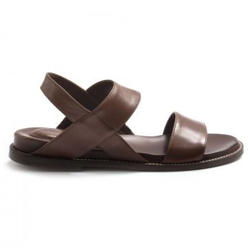 sandals woman lorenzo masiero 210062cognac 12 8241