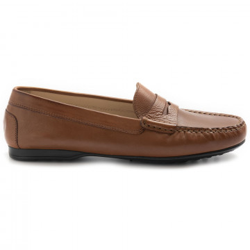 loafers woman rossano bisconti 646 01frida cuoio 8318
