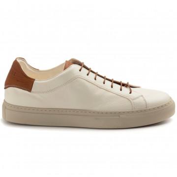sneakers man sturlini 4592bianco tan 8327