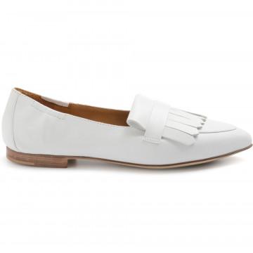 loafers woman bruglia milano 7442noir bianco 8338