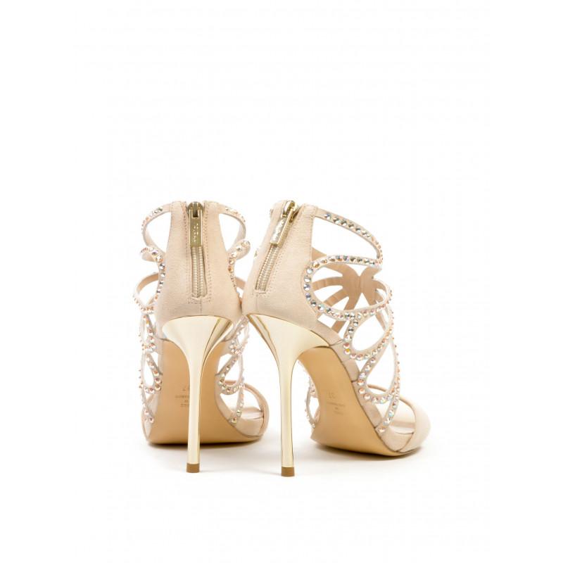 sandals woman ninalilou 261007 cam nettgold quartz 321