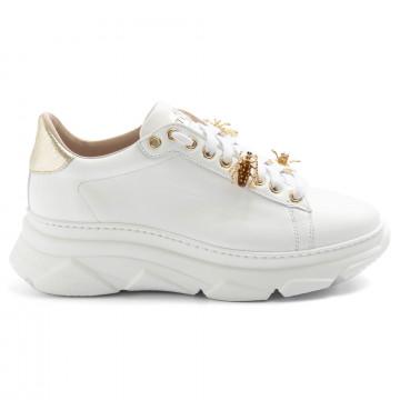 sneakers woman stokton 857dvitello bianco 8376
