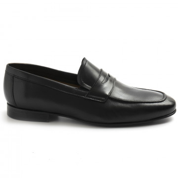 loafers man sangiorgio 6804softy nero 8381
