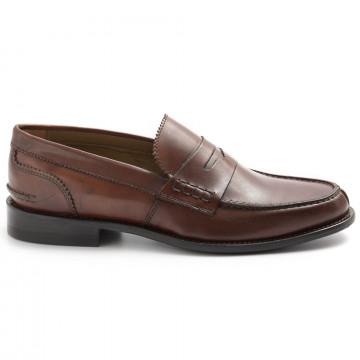 loafers man sangiorgio 301vitello marrone 8312