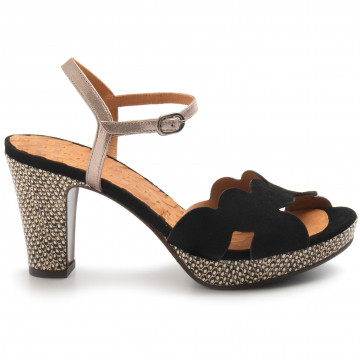 sandals woman chie mihara elis38ante negro 8384