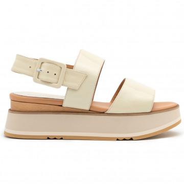 sandals woman paloma barcelo javarilory panna 8399