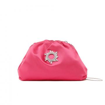 clutches woman twenty four haitch guavasatin rosa 8475