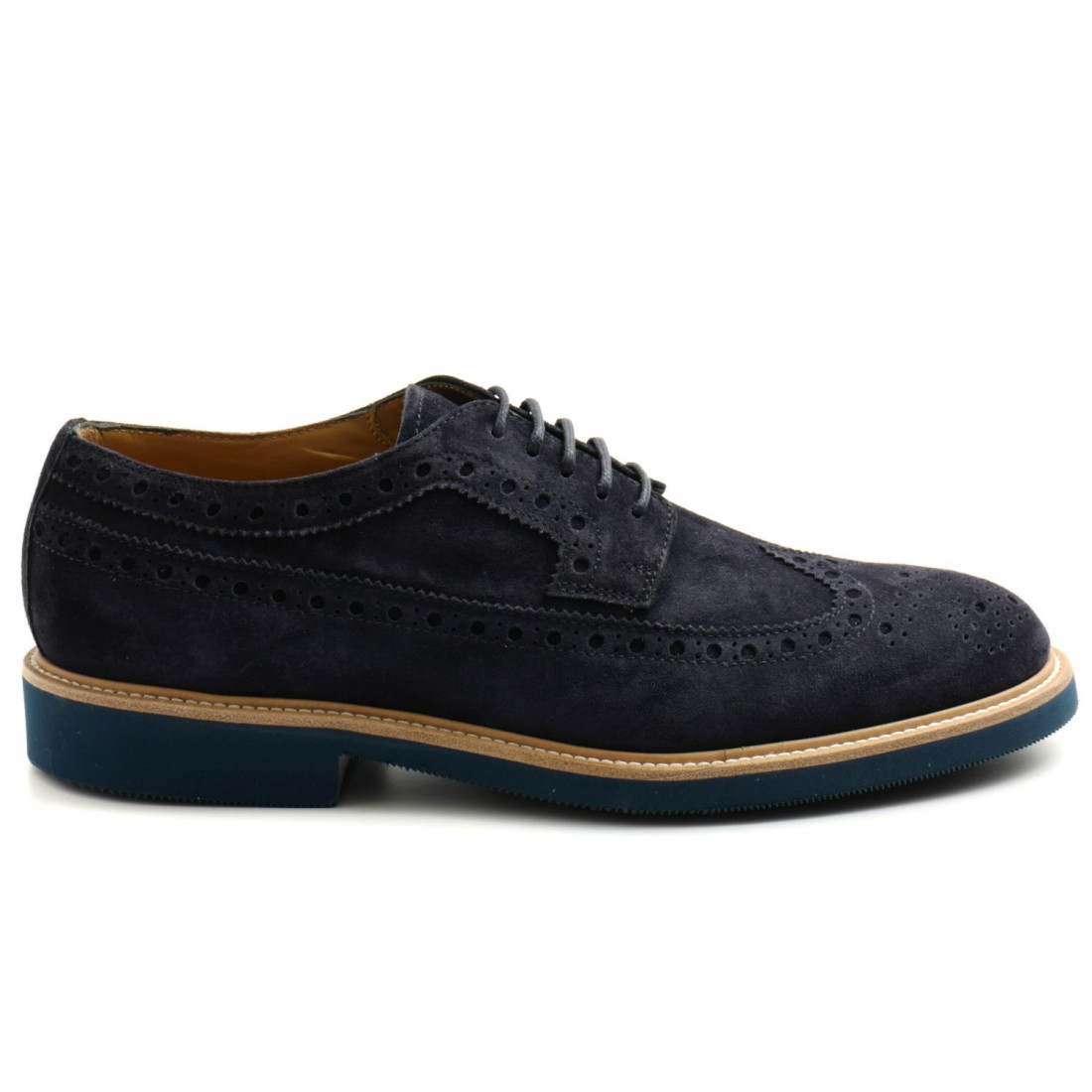lace up man rossano bisconti 466 01softy blu 501 8467