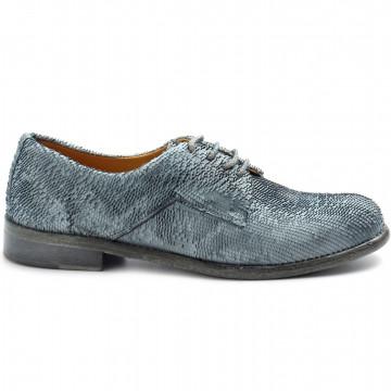 lace up woman calpierre dr32rint azul 8487