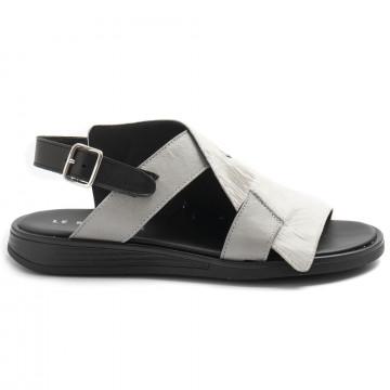 sandals woman le bohemien s50intagliato bianco 8496