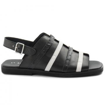 sandals woman le bohemien sm66savage nero 8497