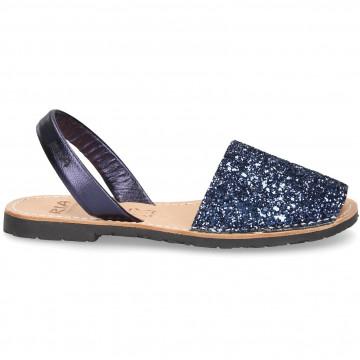 sandals woman ria menorca 21224glitter c33 bearl 7392